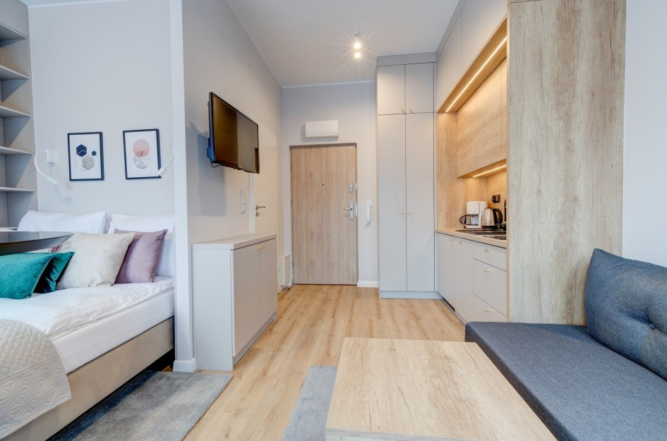Apartament standard plus w kompleksie